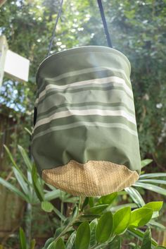 """""""Each time I hung out the washing, I was in awe of how long this bag was lasting. Finally it dawned on me that we should be selling these at Biome! So happythey are Aussie made."""" Made to last, high qualitycanvas peg bag, especially perfect for ourwire pegsbecause the rain water runs through the shade cloth base keeping them rinsed but not sitting in water! Durable heavy duty canvas and strong strap and hookmeans this bag is made to last,even when kept outside on the clothes line. Green Cleaning Recipes, Peg Bag, Biomes, Clothes Line, Hanging Out, Fashion Backpack, Rain, Wire"""