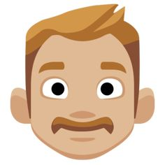 This version of the 👨 Man emoji has the 🏼 Medium-Light Skin Tone applied, which is displayed as a Cream White Skin Tone on supported platforms. Emoji Man, Facebook 2, Scooby Doo, Avatar, Light Skin, Skin Tone, Medium, Clear Skin, Medium-length Hairstyle
