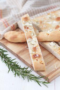 Ricotta and rosemary focaccia recipe by @Raquel Barros Barros Barros Barros