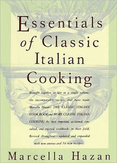 Almost twenty years ago, with the publication of The Classic Italian Cook Book, followed by More Classic Italian Cooking, Marcella Hazan introduced...