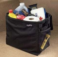 """Trunk Emergency Kit from """"Getting Organized: Taking Your Life on the Road"""""""