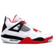 http://www.fineretro.com/ 136027-110 Air Jordan 4 Fire Red 2012 White Fire Red Black Price:$109.00