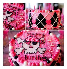 Awesome ideas for a punk pirate princess party!