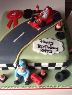 2nd birthday cake for a lovely little boy