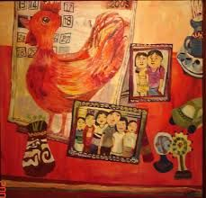 Image result for yau bee ling Rooster, Bee, Painting, Animals, Image, Animales, Animaux, Painting Art, Roosters