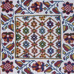 Indian Glass Bead  Panel Hand Embroidery Stitches, Beaded Embroidery, Blackwork, Handicraft, Fiber Art, Bohemian Rug, Glass Beads, Cross Stitch, Indian