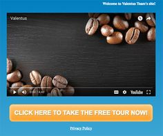 My Website Address Here are your personal Valentus Marketing Addresses:           Corporate Website Product Specific Landing Pages Opportunity Movie Powerline Movie La…