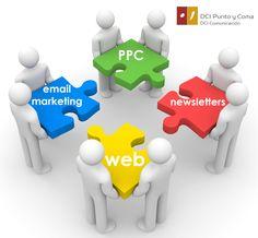 Noticias - MARKETING: ¿Sabes cuáles son las herramientas de marketing más eficaces para las pymes? Por orden: la propia Web, email marketing, publicidad por clic y newsletters.  En DCI podemos ayudarte con estrategias eficaces. ¡Pregúntanos! www.dcipuntoycoma.com