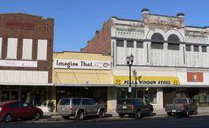 Columbus Commercial Historic District in Platte County, Nebraska.