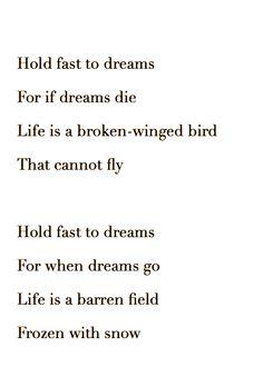 Langston Hughes - Dream Deferred | Poetry | Pinterest | Langston ...