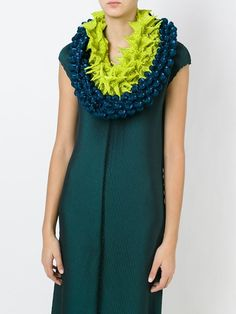 Issey Miyake 3D origami scarf
