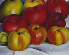 Apple Family - 2 :: Drawings, Paintings & Sculpture