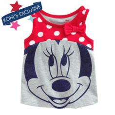 Disney Minnie Mouse Bow Tank by Jumping Beans #MagicAtPlay #MC (sponsored)