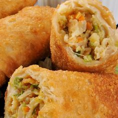 Ever wonder how to make egg rolls