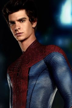 Andrew Garfield, this man did such a good job at the new spiderman...he almost made me reconsider superman being my favorite super hero..still on the fence about it...hes that adorable