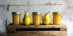 Fresh Verbena Pear Butter With Limoncello - Small Batch Artisan - 8oz Jar by Sunchowders Emporia on Gourmly