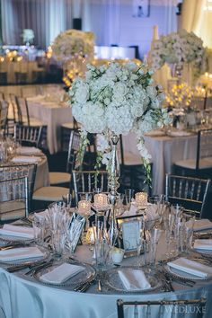 WedLuxe– A Winter White Wedding | Photography by: Mimmo & Co Follow @WedLuxe for more wedding inspiration!