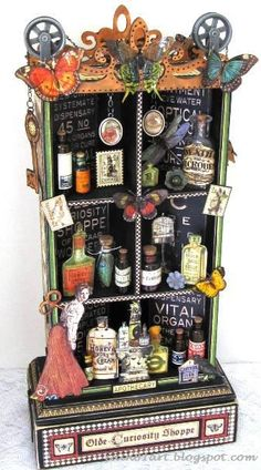 FRIENDS in ART: A Few of My Favorite Things for 2012 - olde curiosity shoppe apothecary