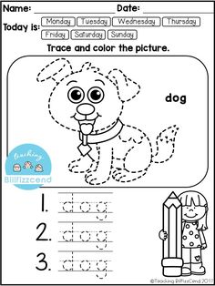 Every monthly set will include: * 5 Trace and Cut the Lines * 5 Cut the Puzzles *10 Trace the Picture *5 Complete the Picture These fine motor skill and handwriting activities are great for students in Pre-K and in Kindergarten. These can be used for literacy centers, independent work, morning work, fast finisher, homework and more. Kindergarten Writing. Pre-K writing. Trace the picture. Tracing. Puzzles.