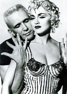 Madonna et Jean Paul Gauthier Par JB Mondino