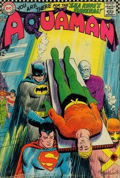 Aquaman, Batman & Superman