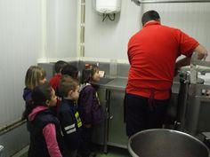 Visita escolar alumnos de segundo de infantil del Colegio San Braulio.