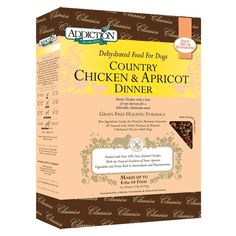 Addiction Pet Foods Country Chicken and Apricot Dinner Dog Food *** Wow! I love this. Check it out now! (This is an amazon affiliate link. I may earn commission from it)