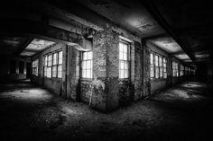 White Hall Abandoned