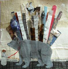 Little medicine woman - collage
