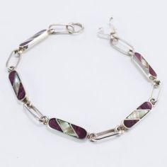 LADRILLOS Silver Enamel, Personalized Items, Jewelry, Seashells, Bricks, Silver Bracelets, Jewel Box, Bracelet, Xmas