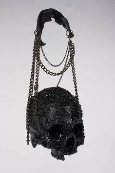 """annadoll2001: """" Skull handbag From The Macabre And the Beautifully Grotesque """""""