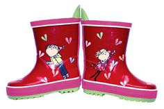 charlie and lola galoshes