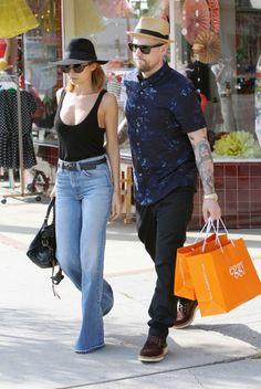 Nicole Richie et Joel Madden, Los Angeles, 22 mars 2013