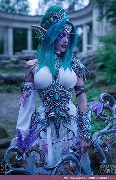 Post with 3522 votes and 84752 views. Tagged with cosplay, world of warcraft; For something nice tonight, have some Tyrande Whisperwind from World of Warcraft cosplay! Cosplay Anime, Epic Cosplay, Cute Cosplay, Amazing Cosplay, Cosplay Games, Video Game Cosplay, Cosplay Outfits, World Of Warcraft Cosplay, Anime Festival