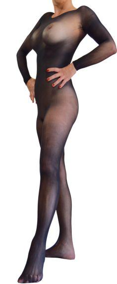 ef122e375f Aphrodite - 360 Seamless sheer body hose bodyhose body stocking transparent
