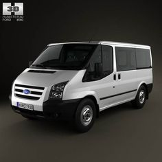 Ford Transit Tourneo SWB Low Roof 2012 3d model from humster3d.com. Price: $75