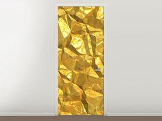 Tür #Tapete Gold