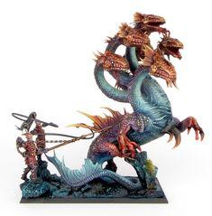 Dark Elf War Hydra