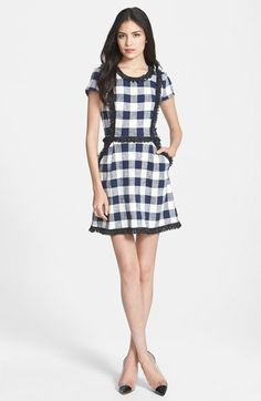 Milly Woven A-Line Dress available at #Nordstrom I WANT