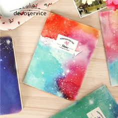 Star Sky Blank Pages Soft Sketchbook Notebook Diary Book Exercise Notepad Graffiti Book Kids Gifts Stationery School Supplies #jewelry, #women, #men, #hats, #watches