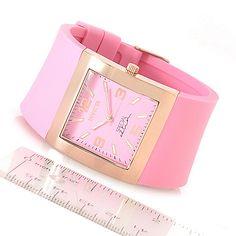 630-311 - Invicta Women's Angel Quartz Stainless Steel Polyurethane Strap Watch