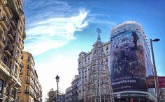 #madrid #ardillafisgona #landscape #sky #travel #christmas #christmastree