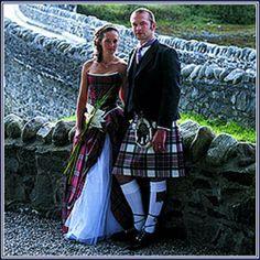 Beautiful Irish wedding clothing