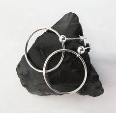 Silver Earrings - Everyday Jewelry - Simple Handmade Jewelery by Sirrý Design
