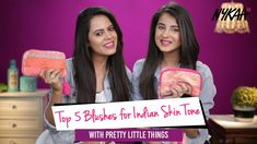 There's nothing quite like a pop of blush on your cheeks to instantly transform your complexion. Whether it's a bold coral, soft pink or warm peach, a bit of. Pink Eye Makeup, Makeup For Green Eyes, Elf Poreless Face Primer, Giveaway, Indian Skin Tone, Skin Secrets, Makeup Haul, Indian Bridal Makeup, Blushes