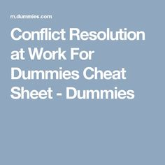 000 Conflict Resolution Steps Poster FREE Teaching Stuff