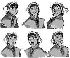 Mais Character Designs do filme Frozen por Jin Kim Male Character, Fantasy Character, Character Concept, Character Design Sketches, Character Design Animation, Character Design References, Disney Mode, Walt Disney, Disney Sketches