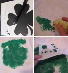 St. Patrick's Day shirt tutorial