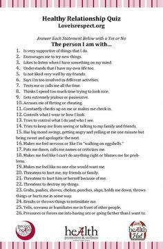 2 person relationship quiz