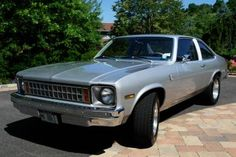 my first car! Chevy Ss, Chevy Nova, Weird Cars, Cool Cars, Trailers, 4x4, Vintage Cars, Antique Cars, General Motors Cars